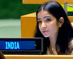 जमशेदपुर की बेटी स्नेहा दुबे का, पाकिस्तान के पीएम इमरान खान को यूएन में दिया जवाब।