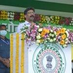 सोना-सोबरन धोती-साड़ी योजना की शुरुआत किया मुख्यमंत्री हेमंत सोरेन ने।