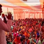 सदर बीडीओ के अकर्मण्यता के ख़िलाफ़ भाजपा ने भरा हुंकार, धरने में उमड़ा जनसैलाब