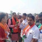 रामगढ़, पटेल चौक और नया मोड़ में भाजपा प्रदेश अध्यक्ष दीपक प्रकाश का हुआ स्वागत